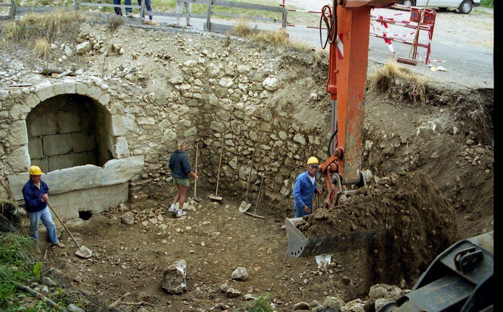 Découverte du puits de Prades