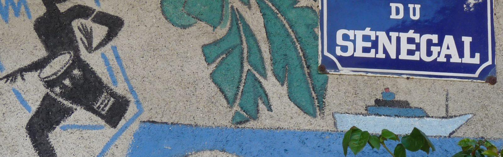 Le quai du Sénégal, à Prades