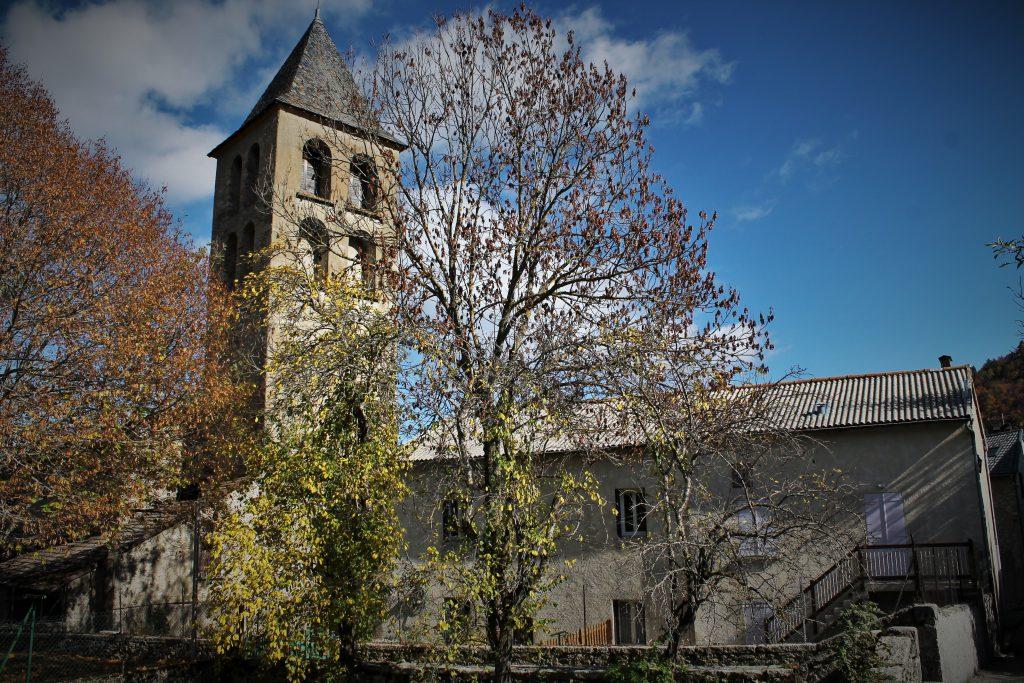 Le clocher de Prades