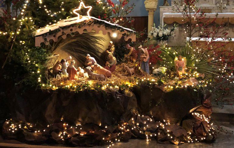 La creche de Noël à Prades