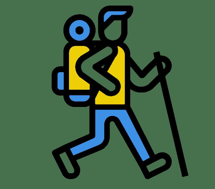 Icone des balades à pied à Prades