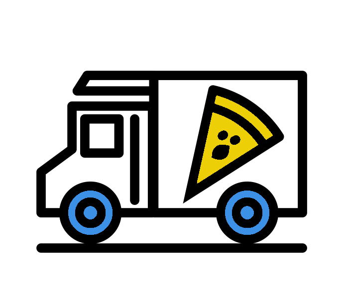 Camion Pizza à Prades