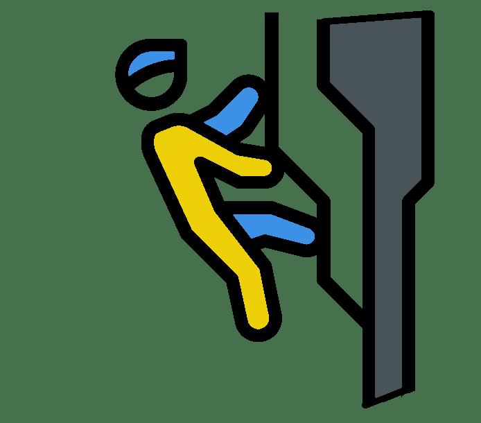 Icone de l'escalade à Prades