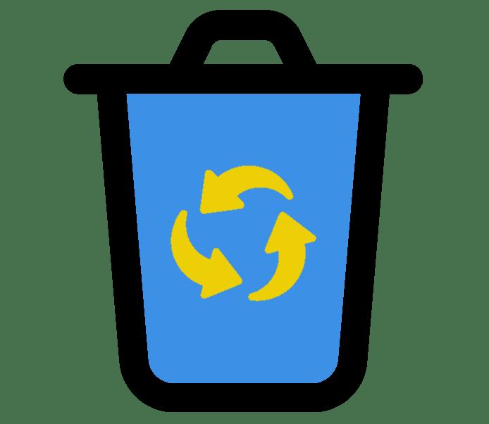 Recyclage des déchets à Prades
