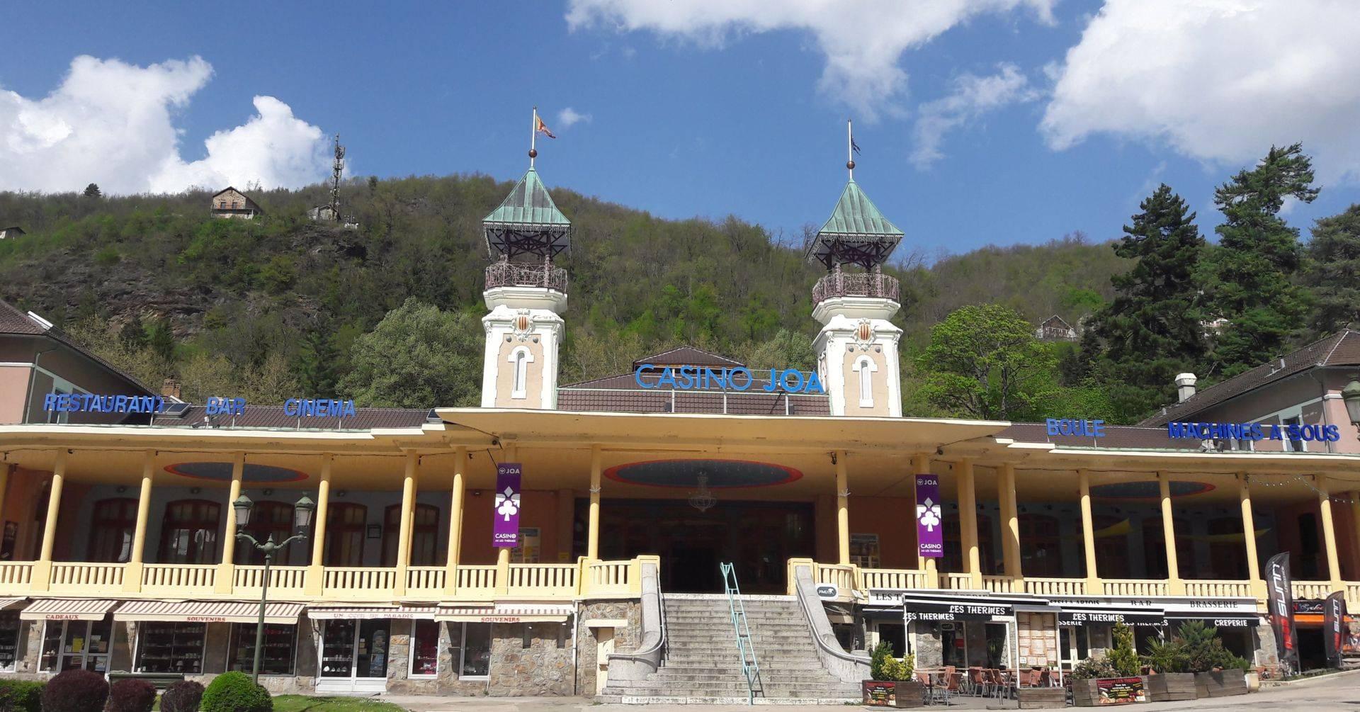 Façade du Casino d'Ax-les-Thermes